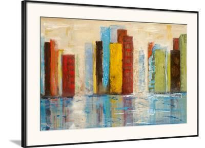 City of Colors-Alexa Tava-Framed Art Print