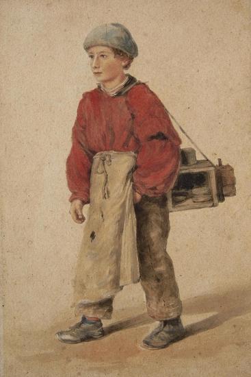 City of London Shoe Black-Sir Henry Cole-Giclee Print