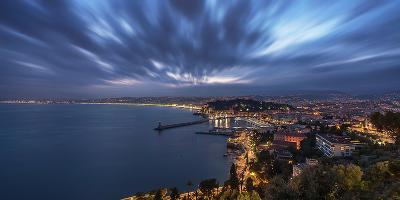 City of Nice-Emmanuel Charlat-Photographic Print