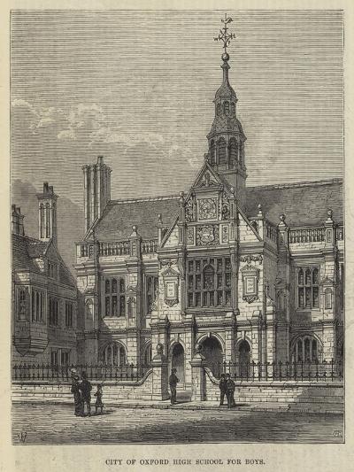 City of Oxford High School for Boys-Frank Watkins-Giclee Print
