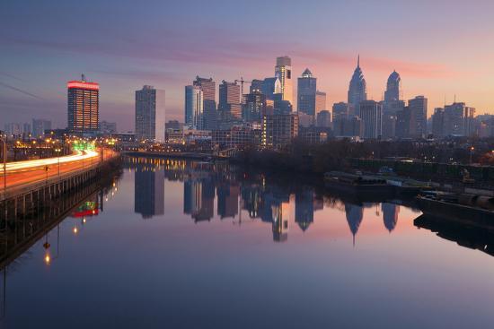 City of Philadelphia.-rudi1976-Photographic Print