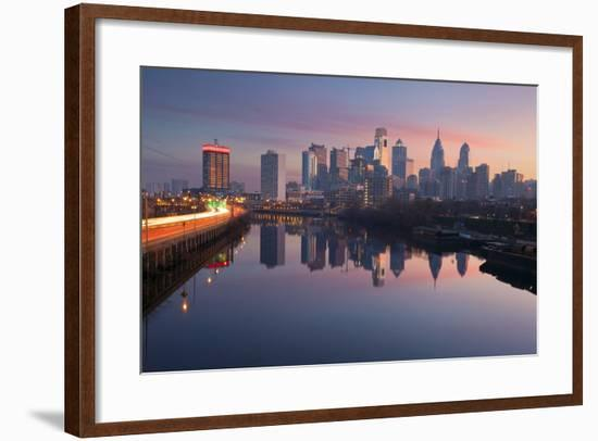 City of Philadelphia.-rudi1976-Framed Photographic Print