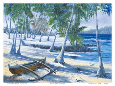 City of Refuge, Big Island, Hawaii-Dawn Lundquist-Art Print
