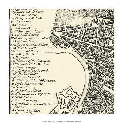 City of Rome Grid IV--Art Print