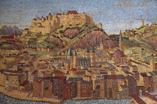 City of Salzburg, Mosaic, Austria--Giclee Print