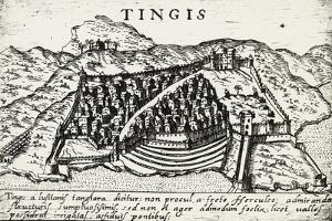 City of Tangier, 1572, Morocco, 16th Century