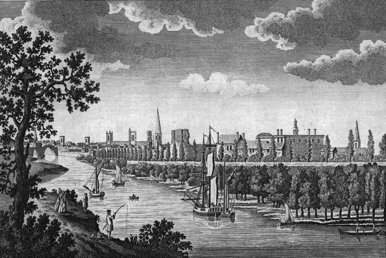 City of York and River Ouse, Yorkshire, c1776-Unknown-Giclee Print