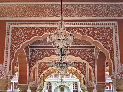 City Palace, Jaipur, India-Adam Jones-Photographic Print
