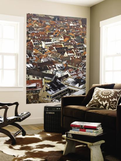 City Rooftops in Winter-Richard l'Anson-Wall Mural