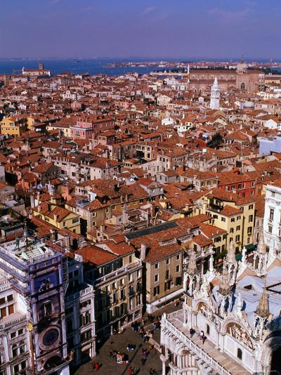 City Rooftops, Venice, Veneto, Italy-Christopher Groenhout-Photographic Print