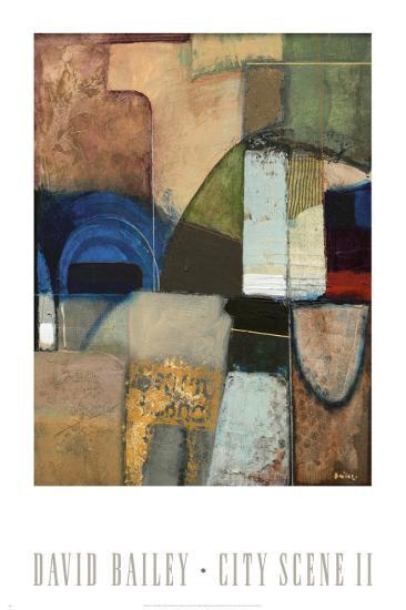 City Scene II-David Bailey-Art Print