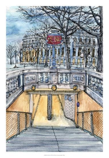 City Scene VI-Melissa Wang-Art Print