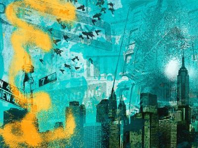 City Scrim C-GI ArtLab-Premium Giclee Print