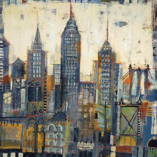 City Sketches-Elizabeth Jardine-Art Print