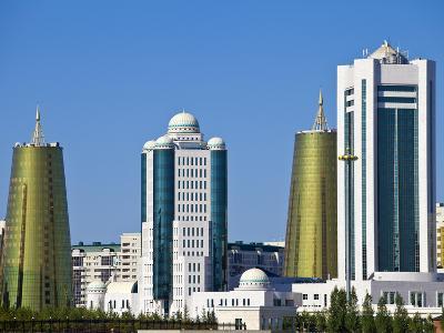 City Skyline, Astana, Kazakhstan, Central Asia, Asia-Jane Sweeney-Photographic Print