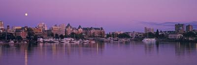 City Skyline at Night, Victoria, British Columbia, Canada