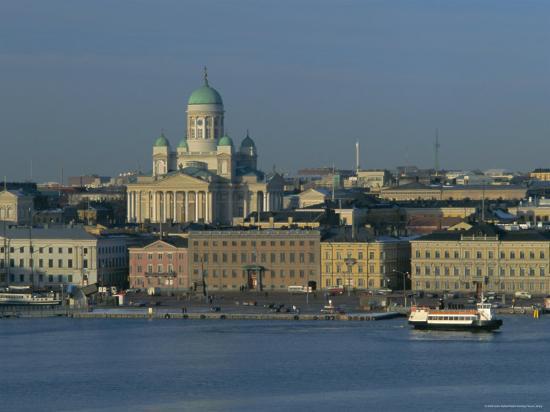 City Skyline, Helsinki, Finland, Scandinavia, Europe-Gavin Hellier-Photographic Print