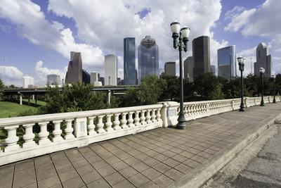 City Skyline, Houston, Texas, United States of America, North America-Gavin-Photographic Print