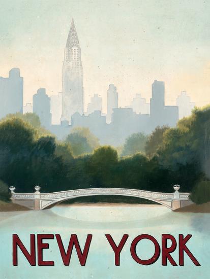 City Skyline New York-Marco Fabiano-Art Print