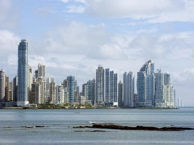 City Skyline, Panama City, Panama, Central America-Christian Kober-Photographic Print