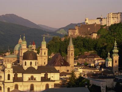 City Skyline, Salzburg, Austria, Europe-Jean Brooks-Photographic Print