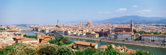 City Skyline Toscana Firenze Italy--Photographic Print