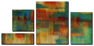 City Spectrum-Joshua Schicker-Canvas Art Set