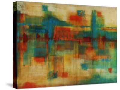 City Spectrum-Joshua Schicker-Stretched Canvas Print