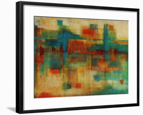City Spectrum-Joshua Schicker-Framed Giclee Print