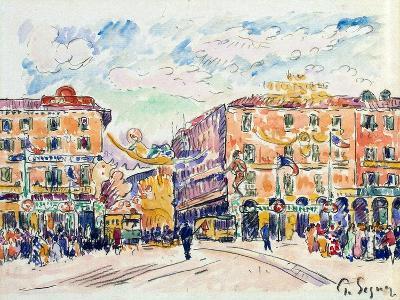 City Square, C1925-Paul Signac-Giclee Print