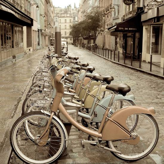 City Street Ride-Alan Blaustein-Art Print