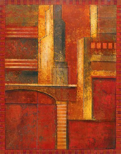 City Towers I-Giovanni-Art Print