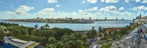 City view from Morro Castle, Havana, Cuba