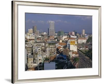 City View, Ho Chi Minh City (Saigon), Vietnam, Indochina, Asia-Gavin Hellier-Framed Photographic Print