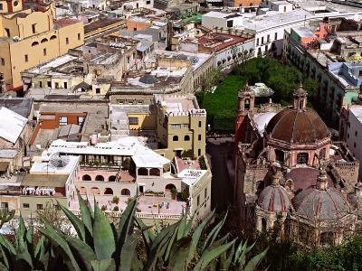 City View Including the Church of San Diego, Guadalajara, Mexico-Charles Sleicher-Photographic Print