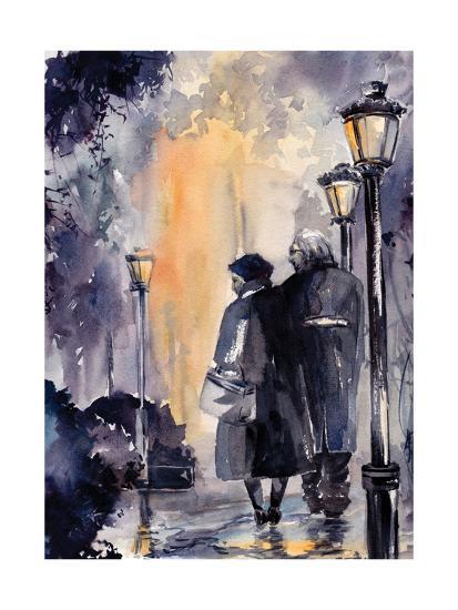 City Walk-Sophia Rodionov-Art Print