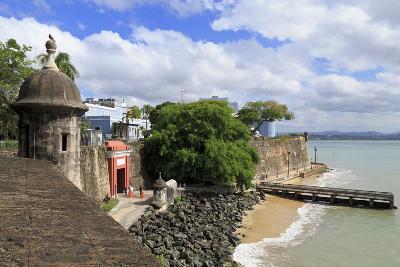 City Walls in Old San Juan, Puerto Rico, West Indies, Caribbean, Central America-Richard Cummins-Photographic Print
