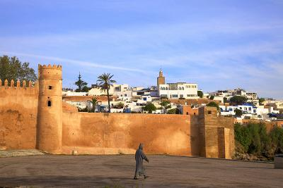 City Walls, Oudaia Kasbah, Rabat, Morocco, North Africa-Neil Farrin-Photographic Print