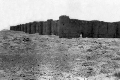 City Walls, Samarra, Mesopotamia, 1918--Giclee Print