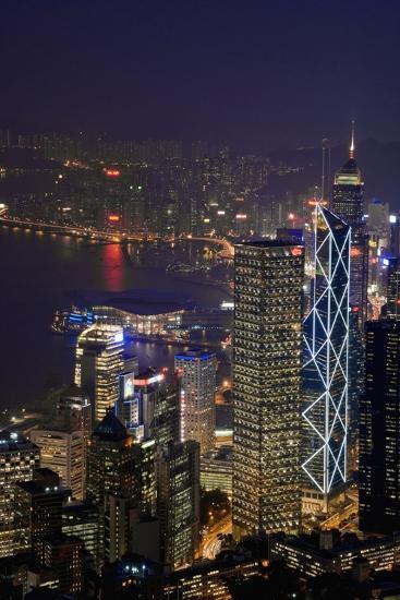 Cityscape and Causeway Bay-Design Pics Inc-Photographic Print