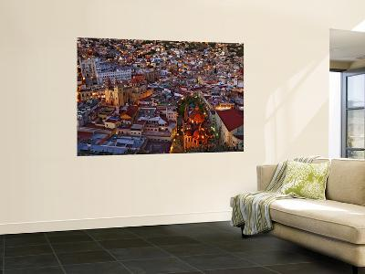 Cityscape at Dusk-Douglas Steakley-Wall Mural