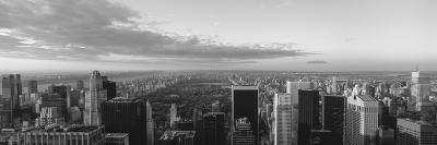 Cityscape at Sunset, Central Park, East Side of Manhattan, New York City, New York State, USA--Photographic Print