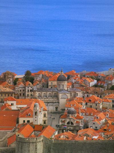 Cityscape, Dubrovnik, Croatia-Keren Su-Photographic Print