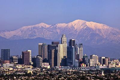 Cityscape, Los Angeles-kenny hung photography-Photographic Print