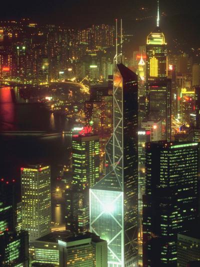 Cityscape of Hong Kong--Photographic Print