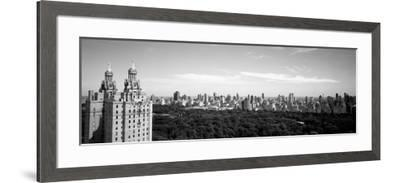 Cityscape of New York, NYC, New York City, New York State, USA--Framed Photographic Print
