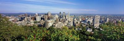 Cityscape of Parc Mont Royal, Montreal, Quebec, Canada--Photographic Print