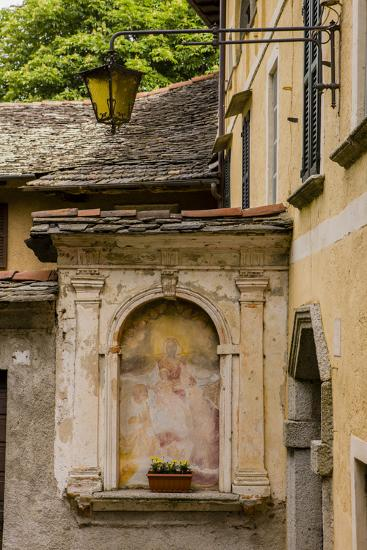 Cityscape. Orta San Giulio. Piedmont, Italy-Tom Norring-Photographic Print