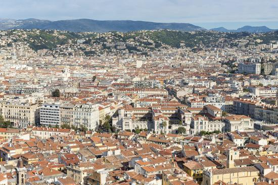 Cityscape Skyline View over the City of Nice, French Riviera-Chris Hepburn-Photographic Print
