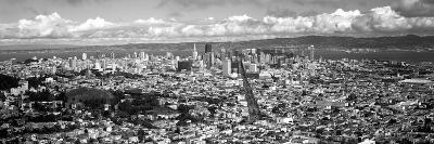 Cityscape Viewed from the Twin Peaks, San Francisco, California, USA--Photographic Print